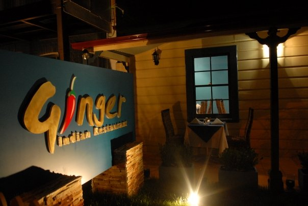 ginger indian restaurant